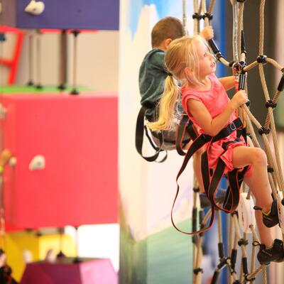 indoor climbing for kids