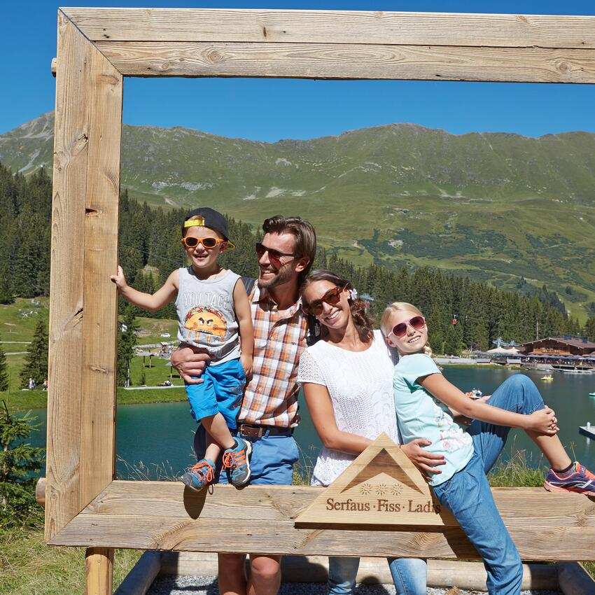 summer vacation family serfaus tyrol