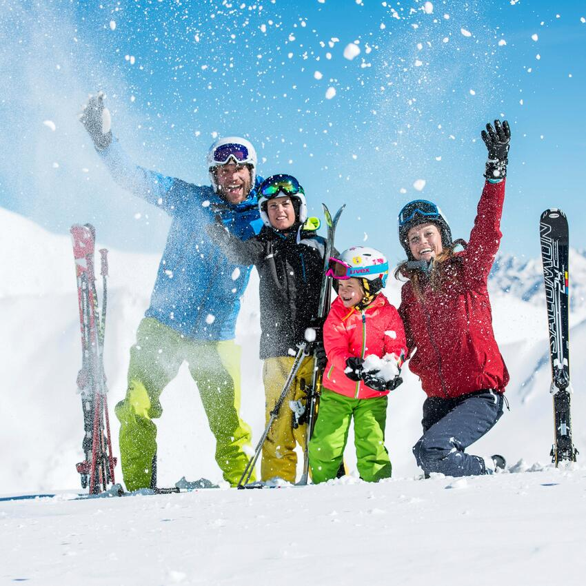 skiing region serfaus tyrol family vacation