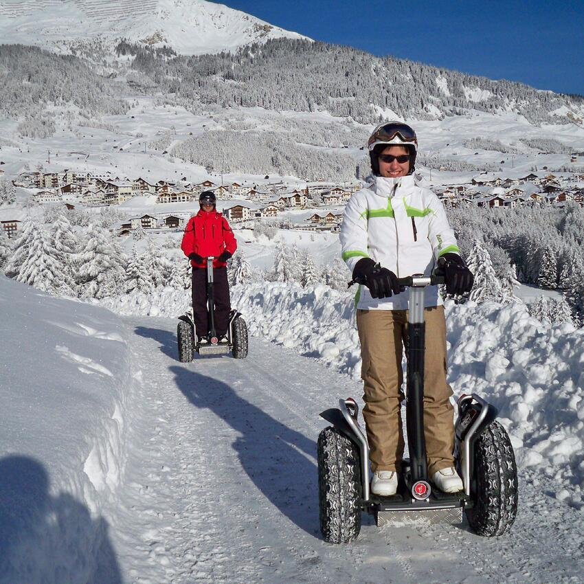 winter segway tour